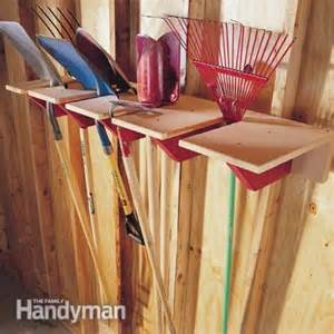 Garage Storage Ideas Garden Tools 35 Diy Garage Storage Ideas To Help You Reinvent Your