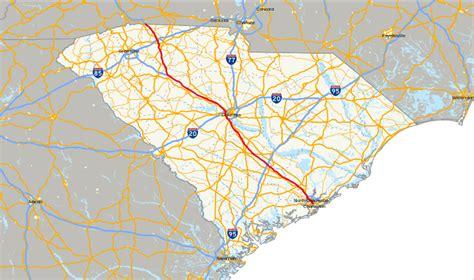 south carolina highway map file interstate 26 in south carolina map svg wikimedia