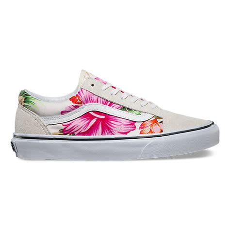 Vans Skool Flower hawaiian floral skool shop shoes at vans
