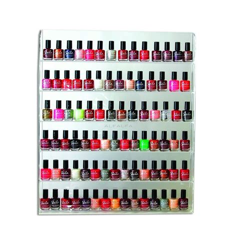nail organizer display wall rack