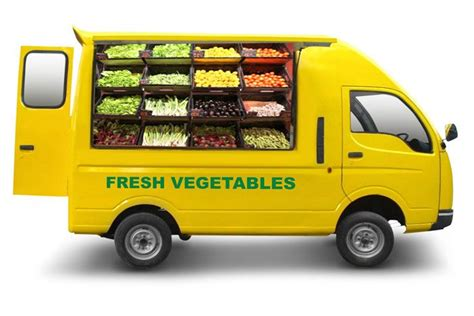 Termurah Mobil Truck Aquarium small commercial vehicles fruit veg shop warzywniak commercial vehicle