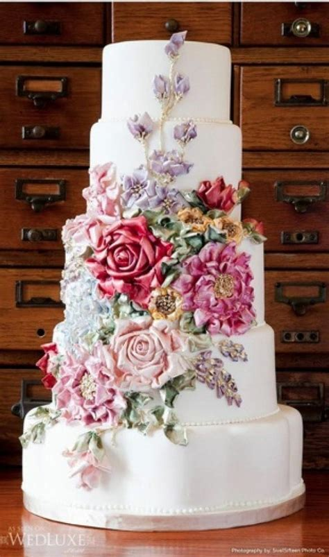 Fondant Wedding Cakes ? Wedding Cake Design #856922   Weddbook