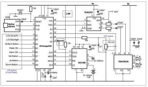 arduino bedside alarm clock radio page