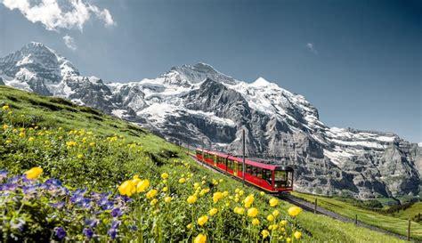 treno a cremagliera svizzera visitare la svizzera viaggiando sui treni panoramici delle