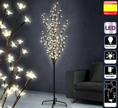 arbol navidad led 240 arbol de navidad 180 cm luces led decorativo cerezo ebay