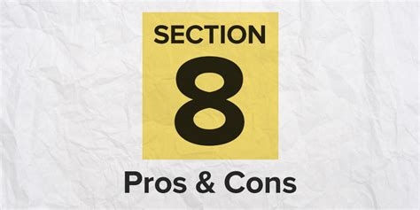 section 8 pros and cons pros and cons of renting a house good pros and cons of