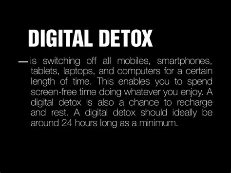 Digital Detox Length by Digital Detox Glopinion Glbrain