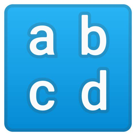 lettere minuscole lettere minuscole emoji
