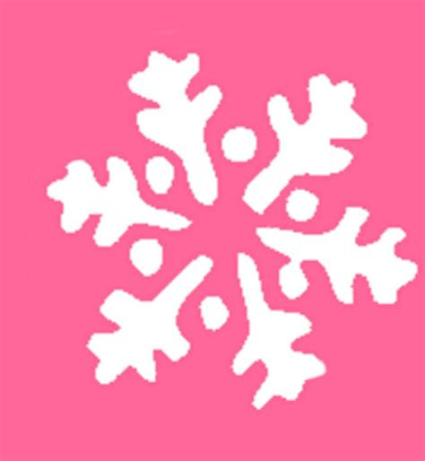 free printable christmas stencils and patterns blog ndelowor printable snowflake template