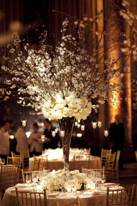 furniture vases for centerpieces ideas winter majestic wedding centrepiece tall narrow vase with