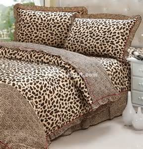 Leopard Bed Sets Leopard Printing Cheetah Print Bedding Sets 101201000005 109 99 Colorful Mart All For