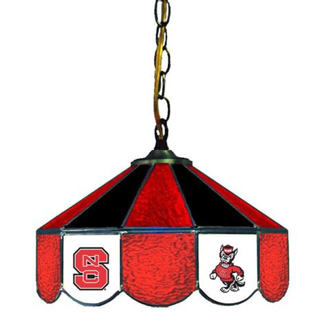 nc state pool table light nc state wolfpack swag light