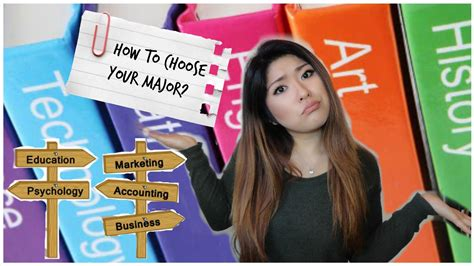 Choosing A by How To Choose Your Major In College Admitopia