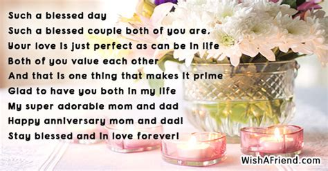 Wedding Anniversary Poems For Parents by Anniversary Poems For Parents Page 1