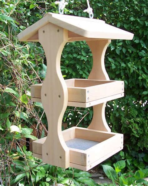 wood bird feeders woodworking projects plans