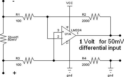 lm358 shunt resistor current shunt page 1