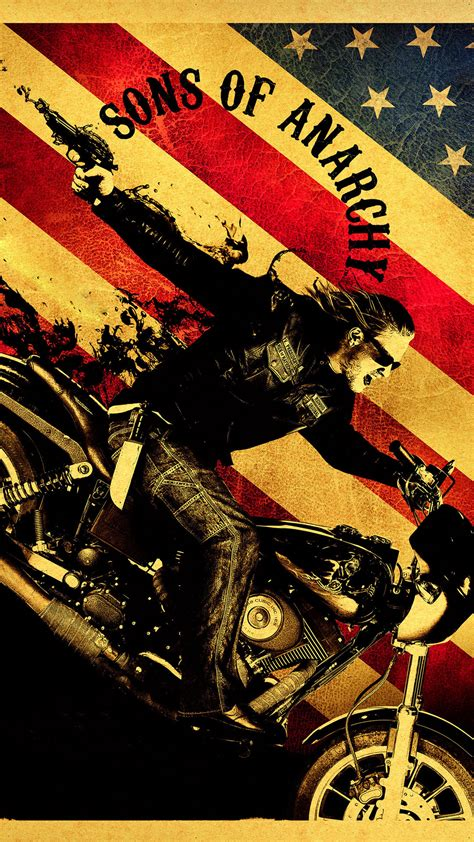 sons  anarchy tv series iphone   hd wallpaper hd   iphonewalls