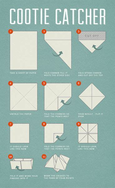 Cootie Catcher Origami - 23 best ideas about slumber on