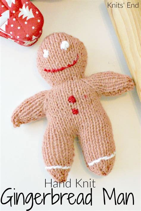 knitted gingerbread free pattern knit gingerbread diy crafts for grown ups