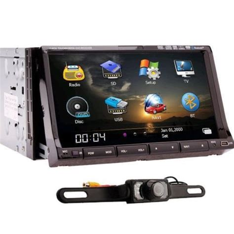 Tv Mobil Indash rear gps map 2 din in dash car radio stereo gps navigation 7 quot hd car dvd cd mp3