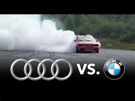 bmw vs. audi (best compilation ever) youtube