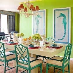 Dining Room Lime Green Inspiration On The Horizon Coastal Green Hue Interiors