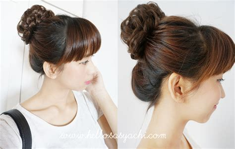 Bun Keriting sasyachi diary etude house hair tools brown