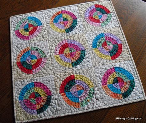 Eye Quilt Pattern bulls eye quilt finish