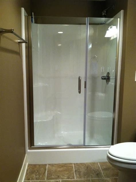 Frameless Shower Doors For Fiberglass Showers by Top 25 Best Fiberglass Shower Enclosures Ideas On