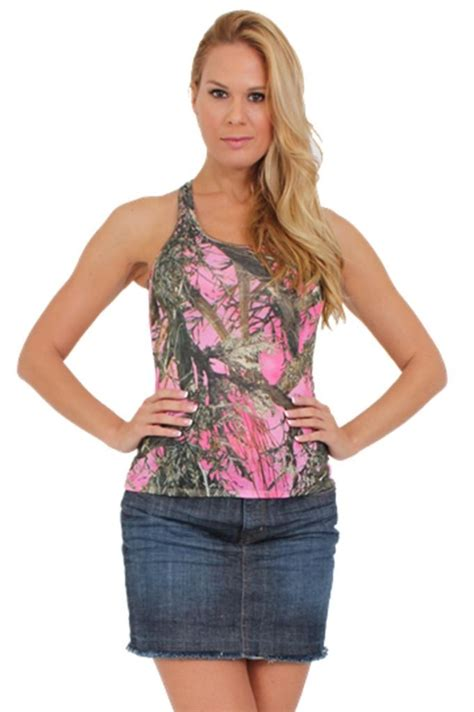 Ip25384 Tember Blouse 2 s juniors pink true timber camouflage racer