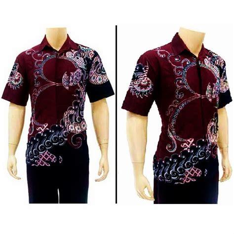 Kemeja Batik Kode Bp 3855 kemeja batik pria kode bp 3656 batik bagoes