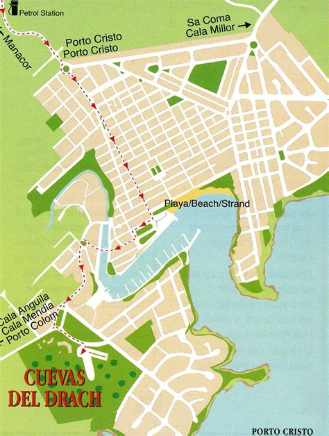 porto cristo maiorca das dorf porto cristo in mallorca die drachenh 246 hlen