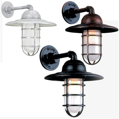 Hi Lite Lighting by Hi Lite Manufacturing Rlm Saucer Vapor Jar Exterior Wall