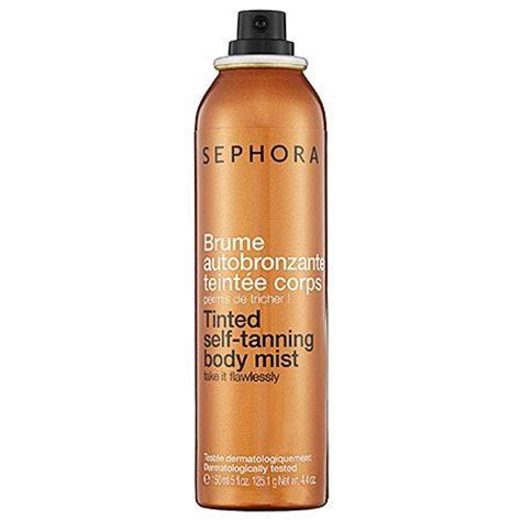 Sephora Bronzer sephora self tanning tinted bronzing mist reviews