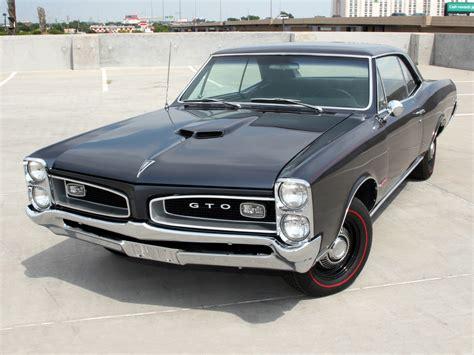 Pontiac Gto 1966 1966 Pontiac Tempest Gto Hardtop Coupe Classic