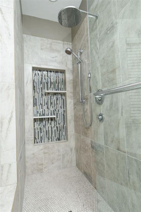 New Shower Insert 1000 Images About Shower Walls Shower Caddies Mosaic