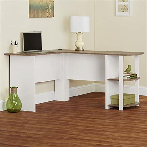altra furniture dakota l shaped desk ameriwood home dakota l shaped desk with bookshelves
