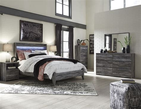 bedroom ashley furniture bedroom sets in gray for porter baystorm gray panel bedroom set from ashley coleman