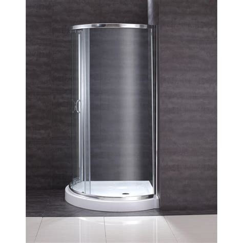 Shower Pan And Door Kits Ove Decors 31 In X 31 In X 76 In Shower Kit With