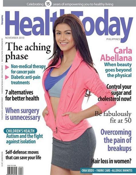 Carla My November by Carla Abellana Covers Health Today Magazine November 2010