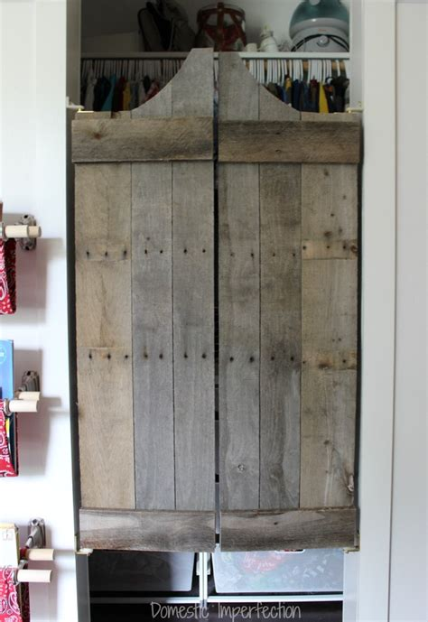 how to make swinging doors how not to make saloon doors domestic imperfection