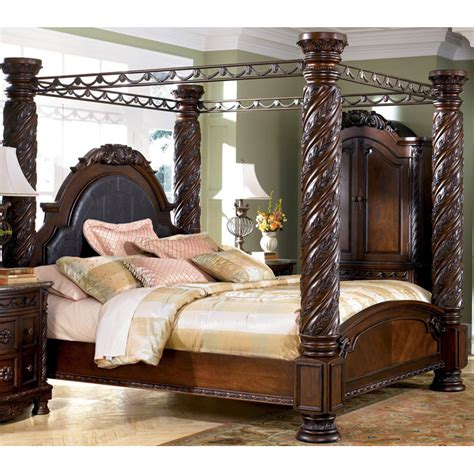north shore canopy bed buy online direct north shore king canopy poster bed