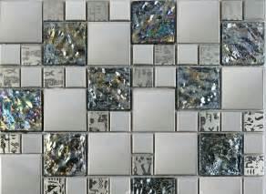 Metal tiles modern curve adding contemporary flair to interior design