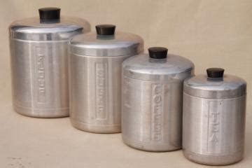 retro kitchen canisters set kitchen tableware and bar