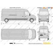 The Blueprintscom  Vector Drawing Nissan NV400 L3H2