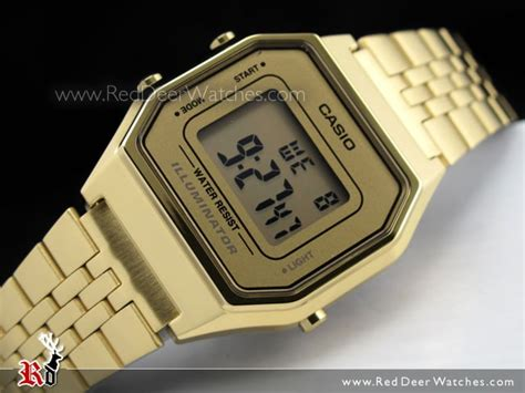 Casio Standard La680wga 1 Original buy casio retro gold tone digital watches la680wga 9df la680wga buy watches