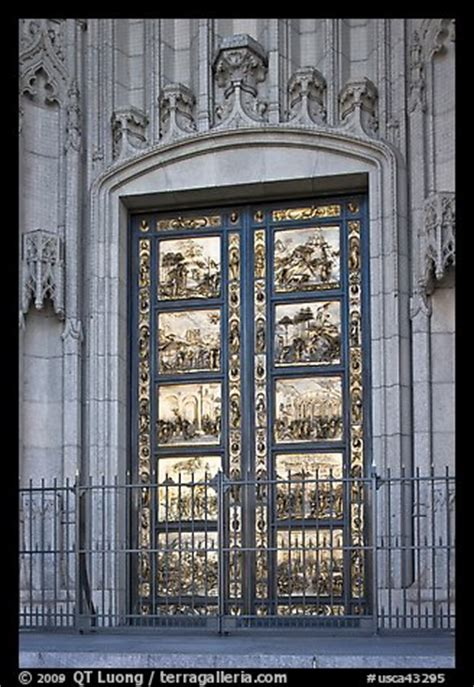 picture photo copy of doors of the florence baptistry by