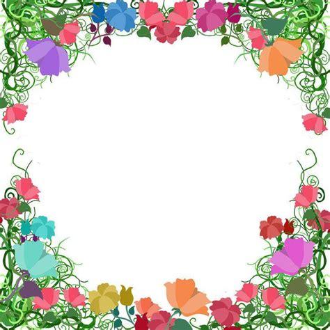 garden page border clip art 41