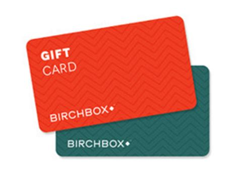 Birchbox E Gift Card - subscription box swaps birchbox e gift card