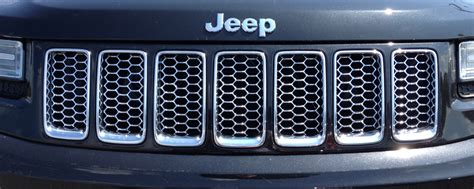 Jeep Grand Grill Inserts Jeep Grand Grill Insert In Chrome 68143075ab